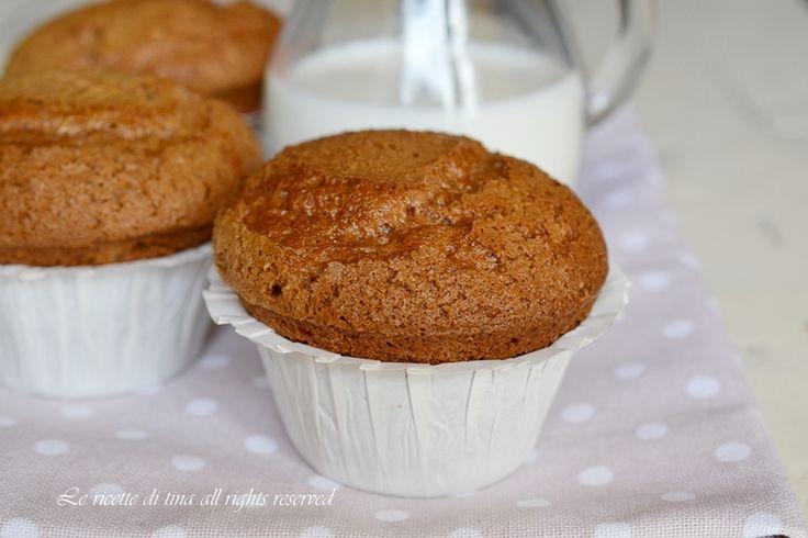 Muffin alla nutella bimby,soffici dolcetti monoporzione arricchiti con la nutella