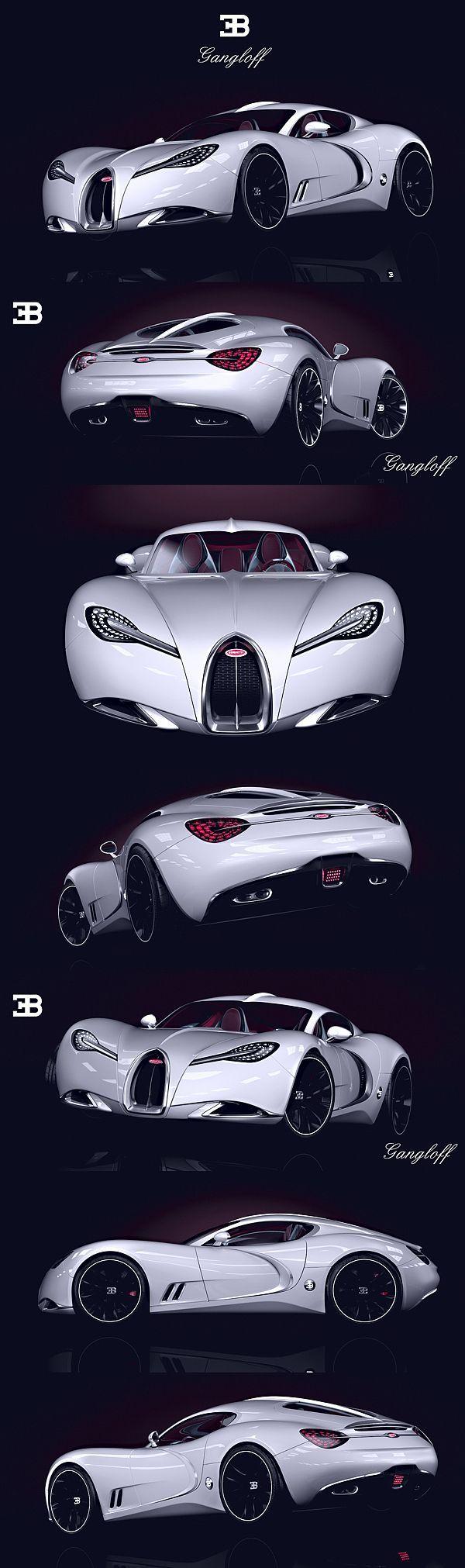 Bugatti Gangloff Concept by Paweł Czyżewski...probably the most beautiful concept ever ...: Concept, Bugatti Gangloff, Gangloff Concept, Auto, Concept Cars, Bugattigangloff