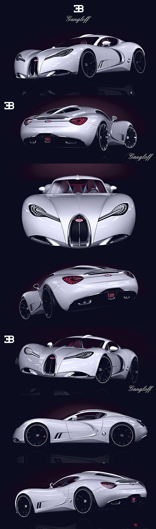 Bugatti Gangloff Concept by Paweł Czyżewski...probably the most beautiful concept ever ...: Concept, Bugatti Gangloff, Gangloff Concept, Auto, Concept Cars, Bugattigangloff