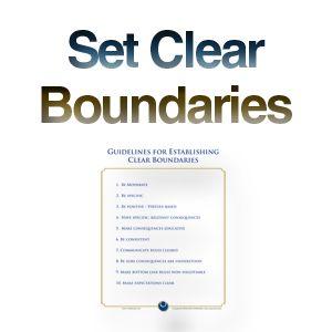 Setting Boundaries in Relationships Worksheet | Set Boundaries