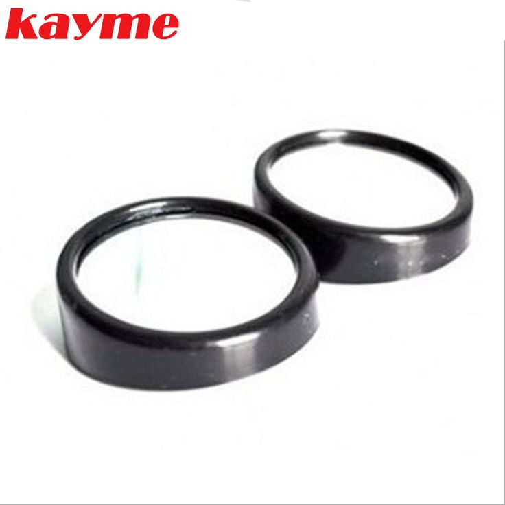 Kayme Car Side Wide Rearview traffic mirror Angle Round Convex Vehicle Blind Spot Mirror Spot Auto Mirror for Trucks Parking
