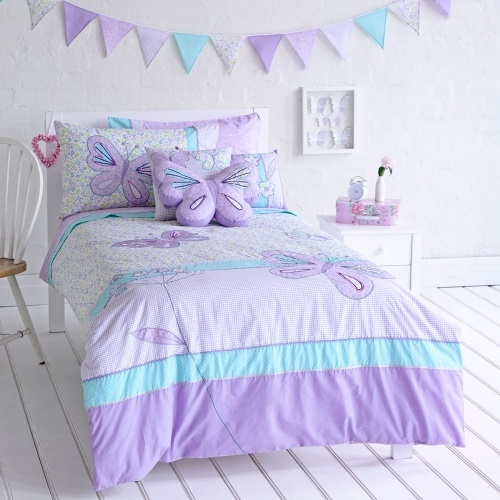 Lilac White Black Girls Room: 41 Best Lilac/turquoise Girls Bedroom Images On Pinterest