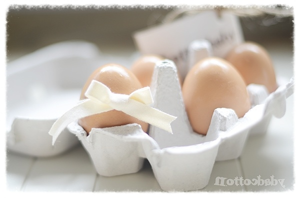 Huevos frescos.