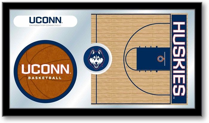 UConn Huskies Basketball Team Sports Mirror - SportsFansPlus