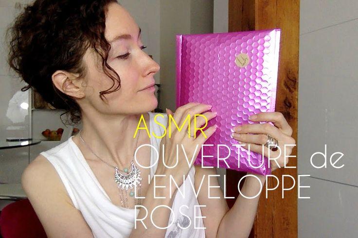 ASMR FRANCAIS - L' Ouverture de l'enveloppe rose
