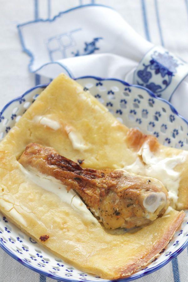 Balkan chicken pot pie | pot pie recipe | chicken pie recipe | kljukusa | chicken bump pie recipe | deep dish chicken pie | easy chicken pie | Balkan chicken pie | easy to do chicken pie | chicken one-pot dinner |