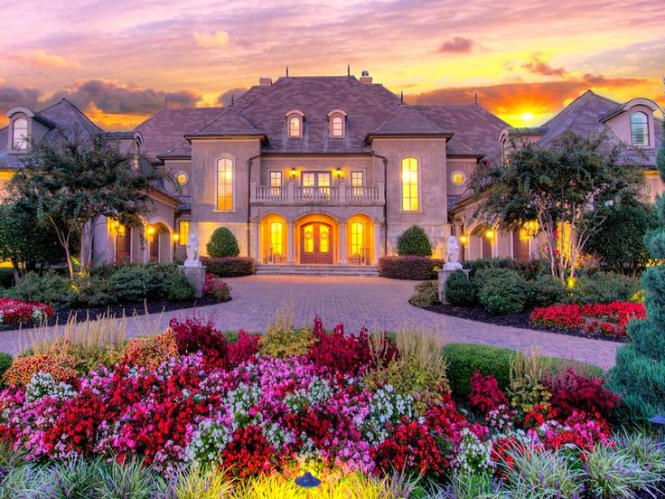 Stunning french chateau in longview country club north for French chateau homes for sale