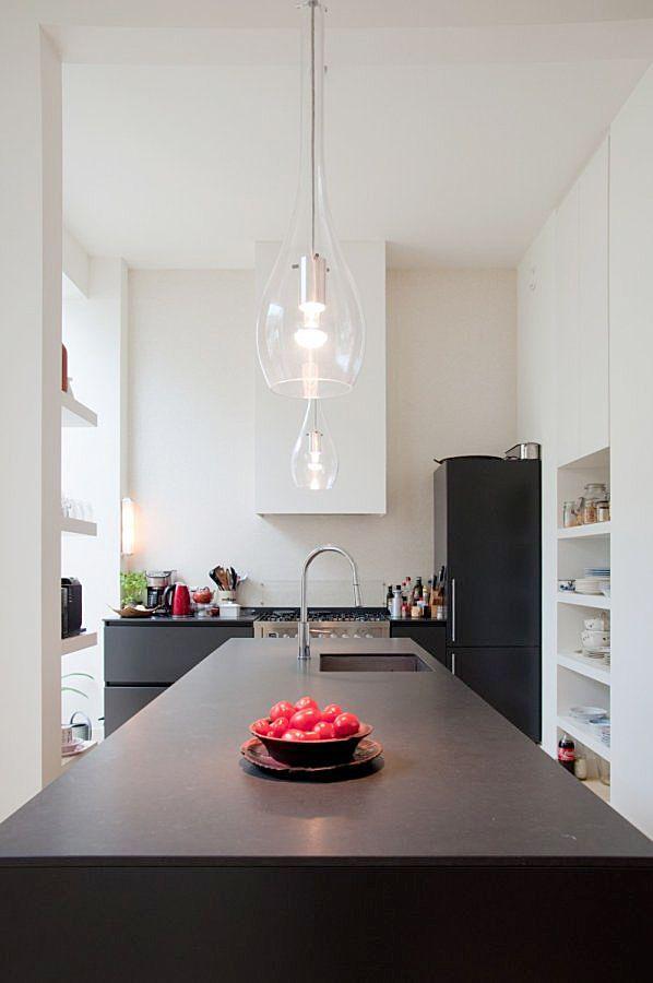 Verbouwing dubbel benedenhuis Amsterdam. Voor meer interieur inspiratie check walhalla.com