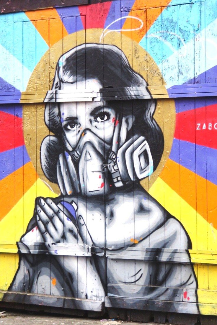 Guide to street art in London - an awesome collection of urban artists in London. Walk around Shoreditch and witness the street art, graffiti and murals that bring the city alive. Free map. Click to read.