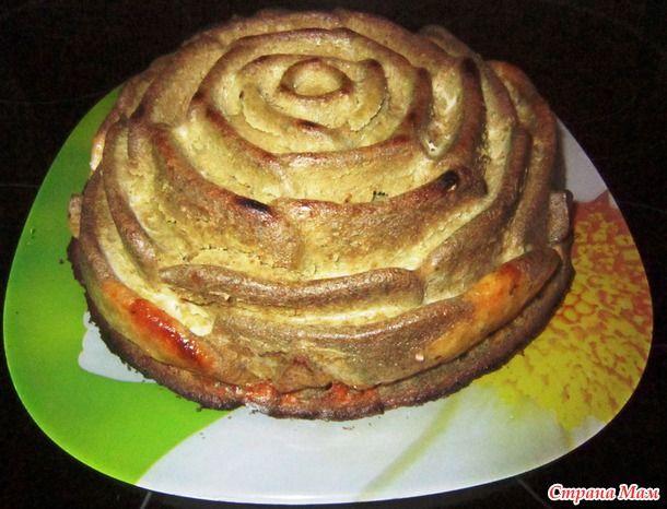 """Сырно-печеночный пирог """"Нежность"""""""
