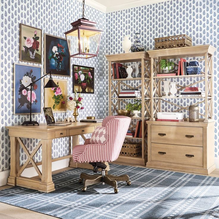Scattered Paisley Geometric Wallpaper Design In 2020