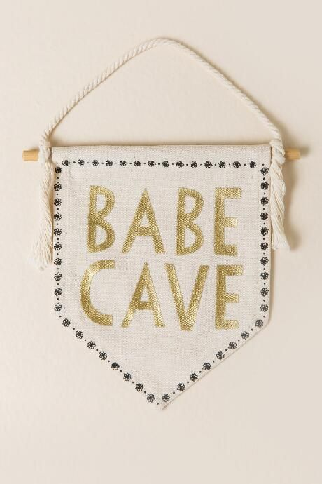 Babe Cave Mini Banner $8.00