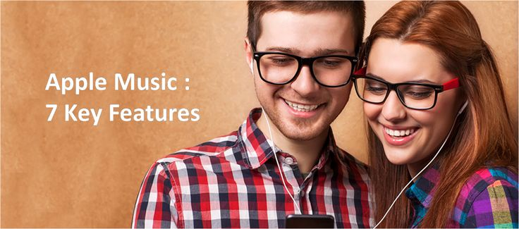 Apple Music made a landmark in the field of Music world with it's seven key features.