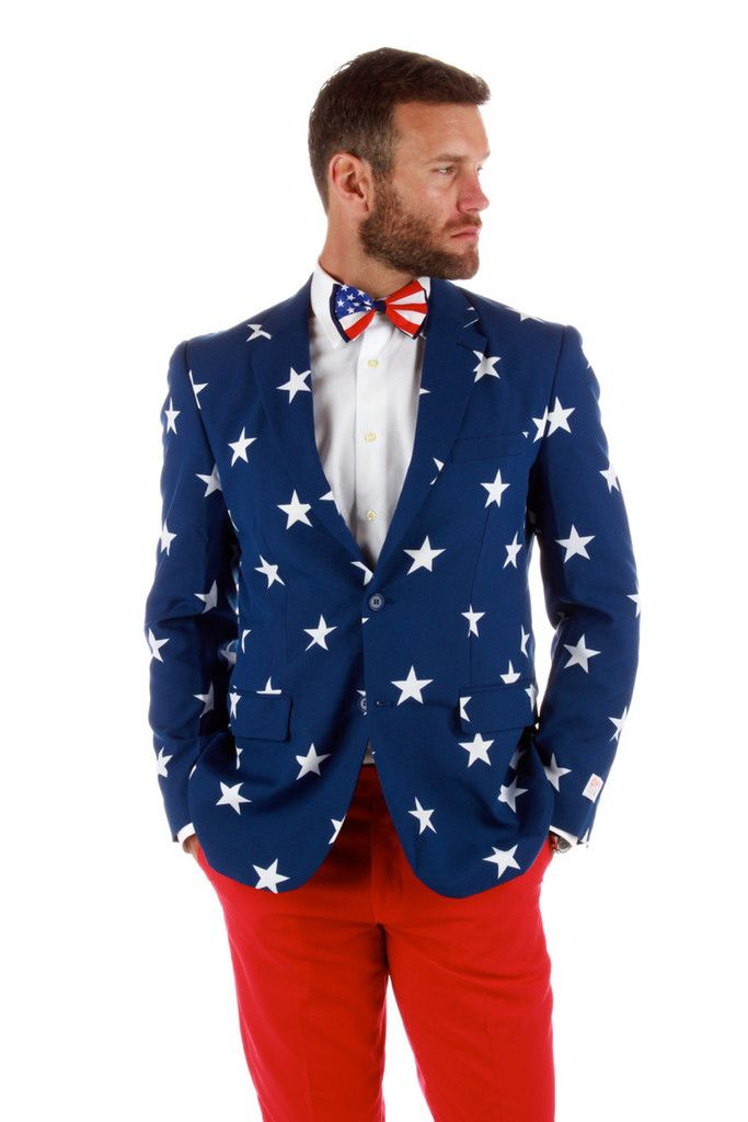 American Flag Business Suit - The 'Merican Gentleman