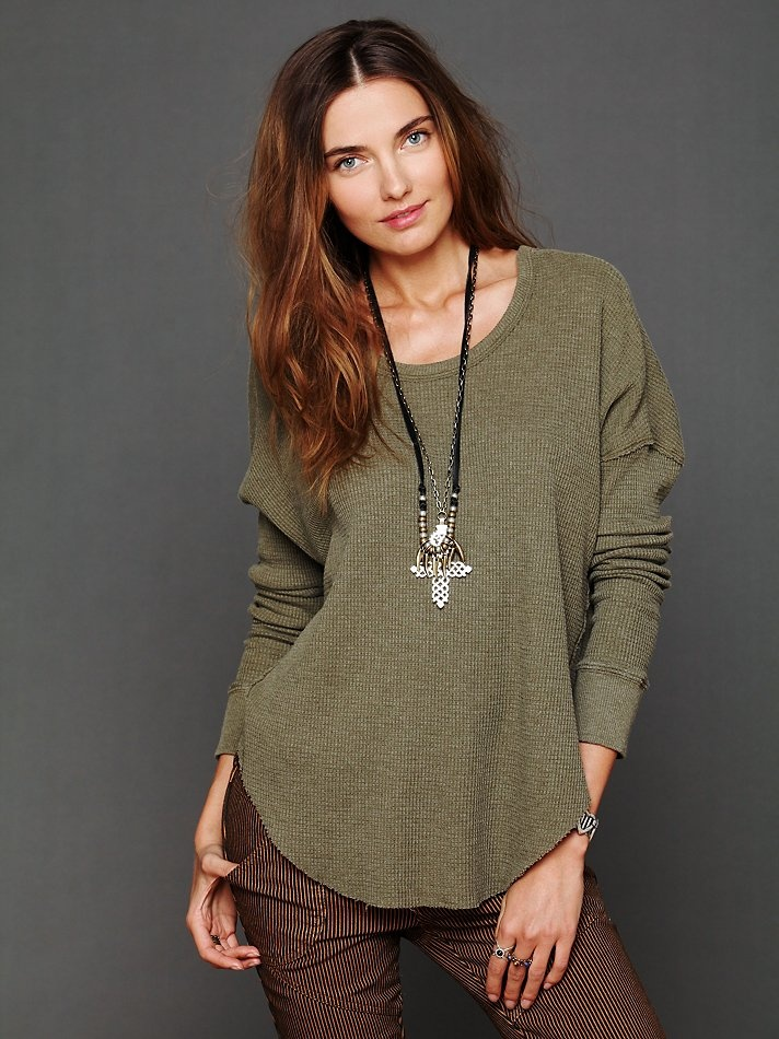 Free People Billie Jean Thermal at Free People Clothing Boutique