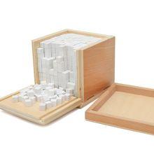 Baby Speelgoed Montessori Volume 1000 Cubes Voor Vroegschoolse Educatie Voorschoolse Training Kids Speelgoed Brinquedos Juguetes TK0129(China (Mainland))