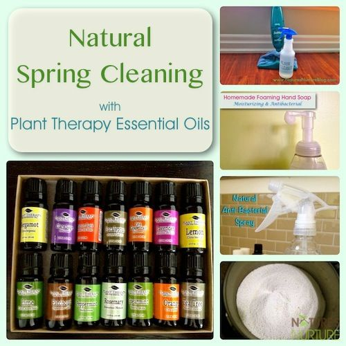Natural Spring Cleaning with Plant Therapy Essential Oils {Review & Sponsor Spotlight} - Nature's Nurture
