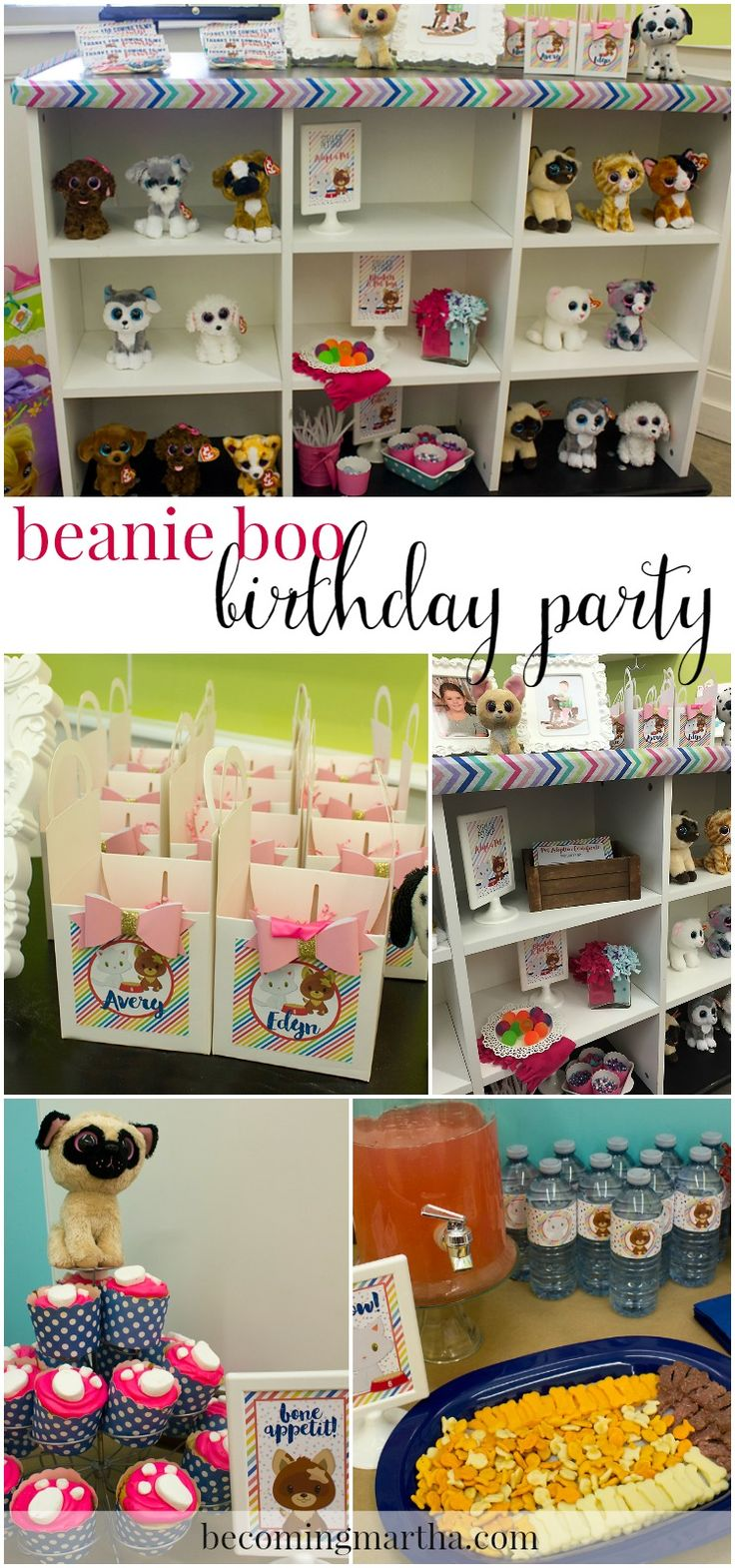 This Beanie Boo Birthday Party was one of the easiest and simplest parties I've ever thrown - and holding it at a venue like Michaels (@michaelsstores) made it really stress free but allowed me to be as creative as I wanted!