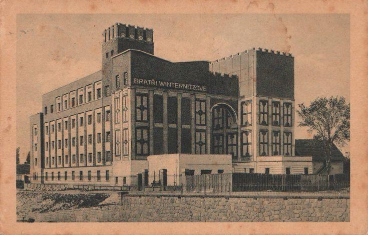 Gočár, Josef - Winternitzovy mlýny, Pardubice (Winternitz Mills, Pardubice), 1909-1910