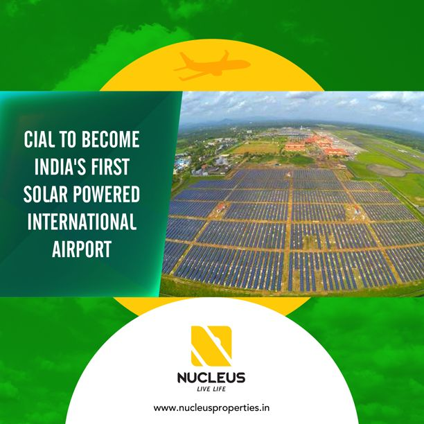 Cochin International Airport is all set to become the first airport in the country which would be operating on solar power.  #India #Kerala #Kochi #Cochin #Airport #KeralaNews