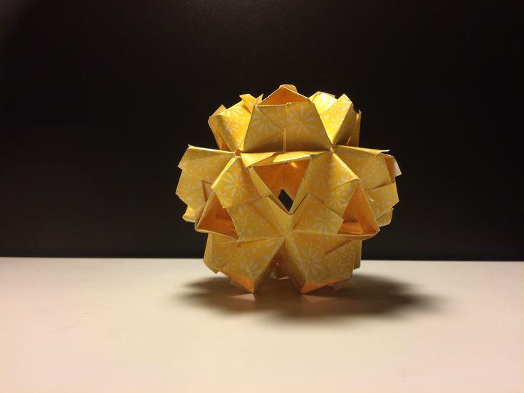 modular origami diy kusudama http://kusudama.me