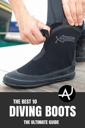 Dive boots reviews: Find out what are the best dive boots that fits your budget and your feet best with this easy to read buyer's guide. #scubadivingequipmentwatches
