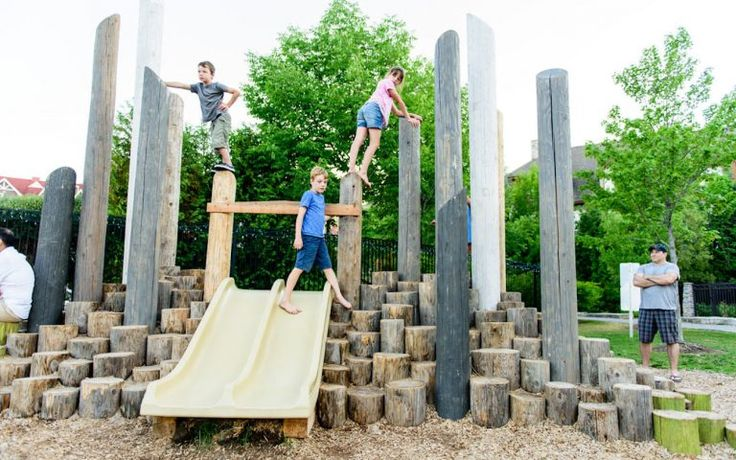 Blue Mountain Resort  #playground #naturalplayground #themedplayground #playground #customplayground #logsteppers #robiniaplaygroud #custom #play #active #creativepla #activeplay #bluemountainvillage