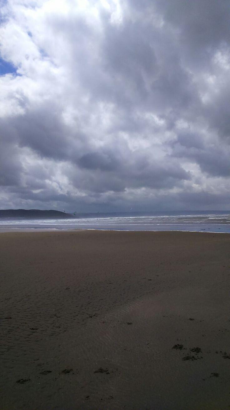 Beach skies, Westward ho!