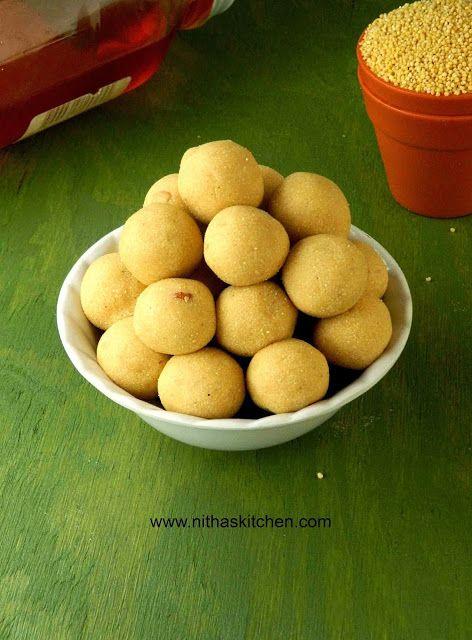 Millet Honey Balls