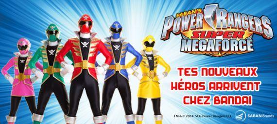 Les Power Rangers Super Megaforce arrivent !!!    Ils sont 5, ils sont beaux, ils reviennent pour de nouvelles aventures encore plus extraordinaires, ce sont... LES POWER RANGERS SUPER MEGAFORCE ! #PowerRangers #Jouet #Enfant # Aventures #Bandai