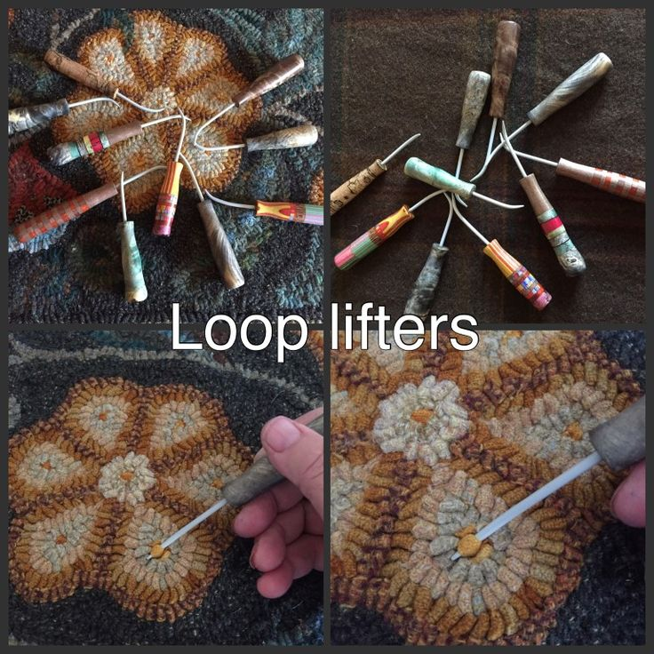 Searsport Rug Hooking -- Rug Hooks