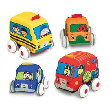 Pull Back Vehicles by Melissa & Doug