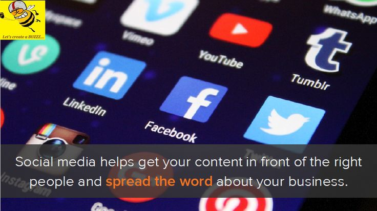 Bring your content in front of right audience at right time through social media. #BuzzerMaker #SMM #SocialMediaExpert #ContentMarketing