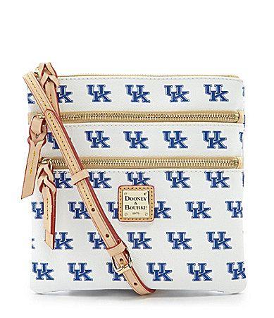 Dooney and Bourke University of Kentucky Triple Zip CrossBody Bag #Dillards
