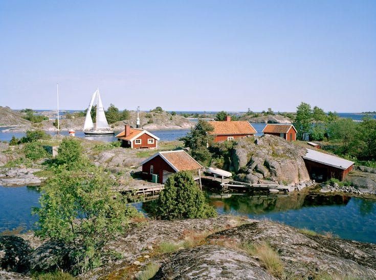 Schwedens Schären sind Sehnsuchtsorte. Wunderschön. Zum Segeln, Baden, Wandern oder einfach nur Relaxen. #Schweden #Stockholm