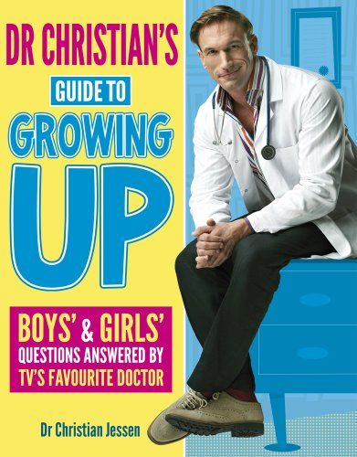 Dr Christian's Guide to Growing Up by Dr Christian Jessen http://www.amazon.co.uk/dp/1407132717/ref=cm_sw_r_pi_dp_yvgevb0AK1XFZ