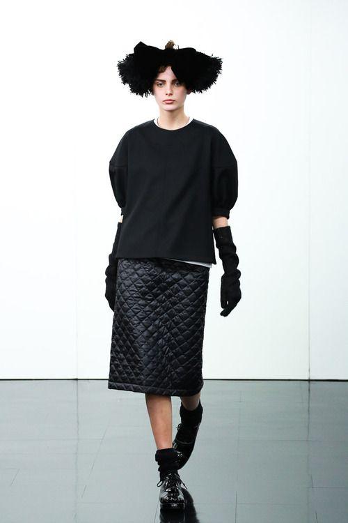 [No.66/69] tricot COMME des GARÇONS 2014~15秋冬コレクション | Fashionsnap.com