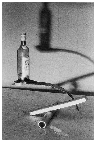 Peter Fischli David Weiss - Ehre, Mut, Und Zuversicht (Honor, Courage, Confidence) 1985 Gelatin silver print - Matthew Marks Gallery