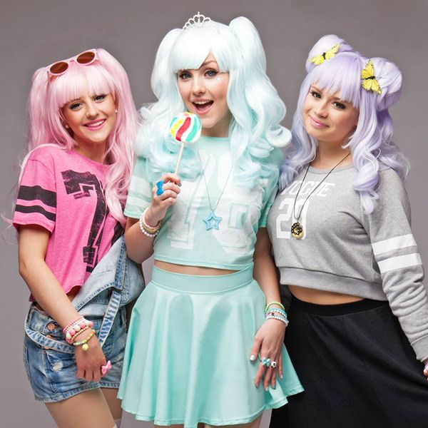 Dolly Style. Molly, Holly, Polly. #kawaii #music #fairy kei