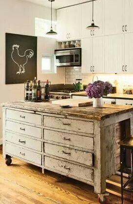 diy landhausstil küche