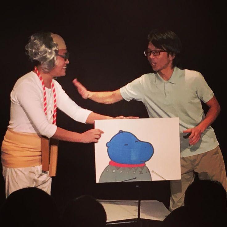#ジャックポット の紙芝居コント来場したキッズにもウケてます  #namara #niigata #新潟 #ngt #ナマラ #お笑い #コメディー #コント #えんとつシアター