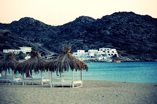mylopotas beach, Ios, Greece...I want to go there too.