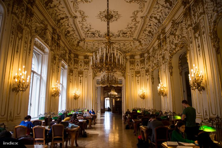 reading room in the Wenckheim palace