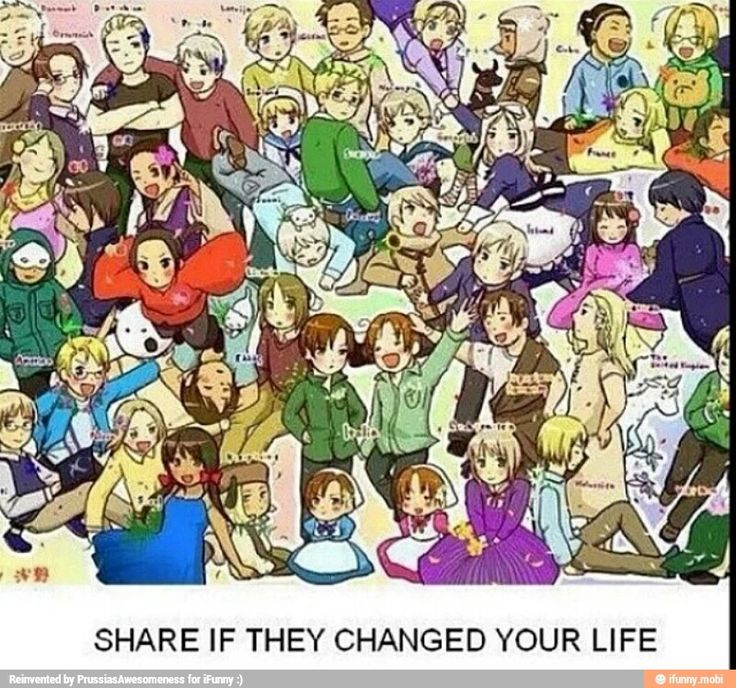 hetalia is the best thing in the world! ( get it! :D ) and the characters are the best role models ever !<<Haha I get it