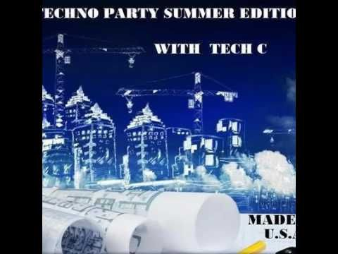 tech c  at techno party summer edition 2016
