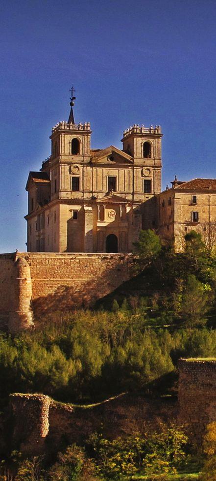 Monasterio de Santiago de Uclés, Cuenca, España.