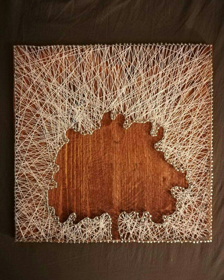 Wooden picture, dřevěný obraz, strom