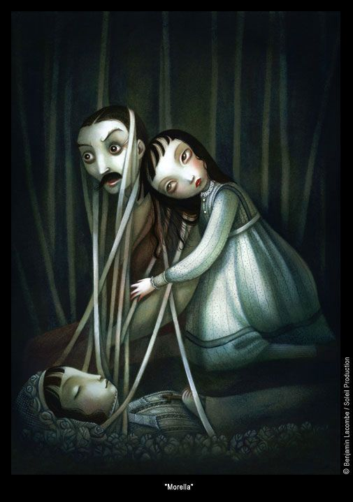 wow !!!  it really happens that way ! Great piece!   Benjamin Lacombe PortFolio