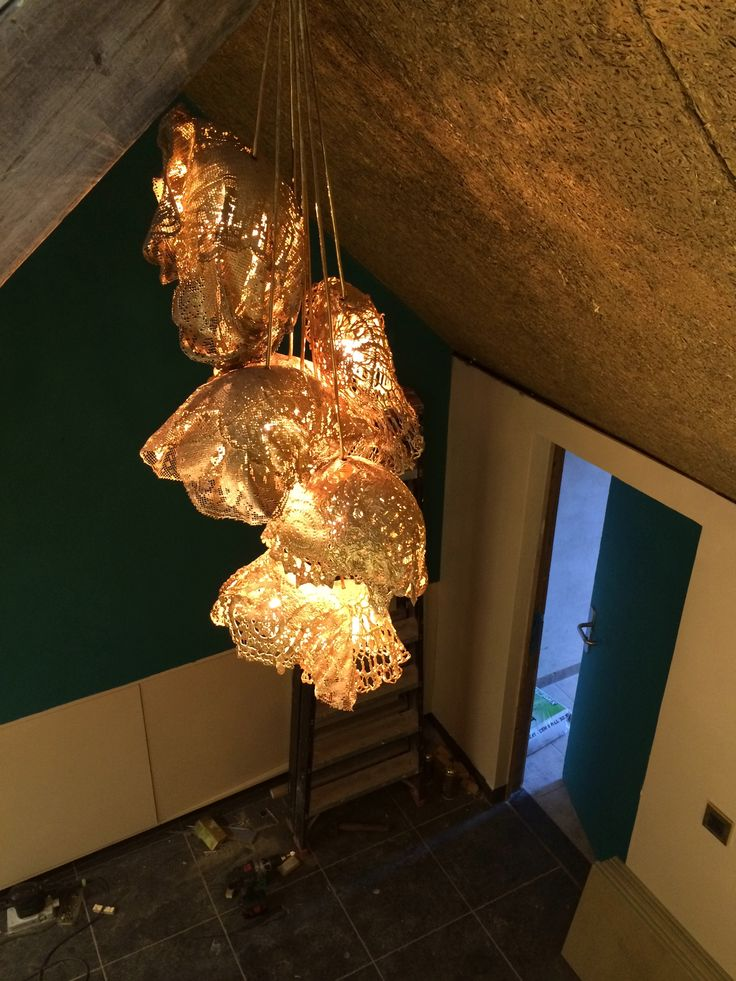 gouden plafond af, contrastkleur