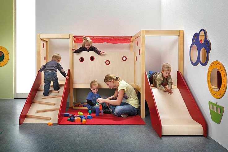 One day! Indoor play structure!